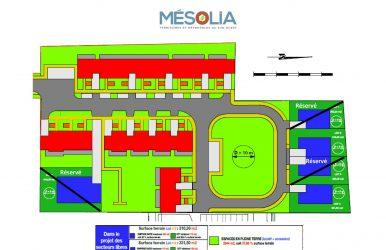 Plan Masse Terrain à Bâtir Bruges