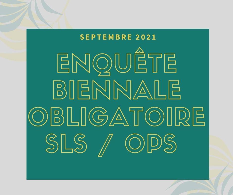 ENQUETE OBLIGATOIRE 2